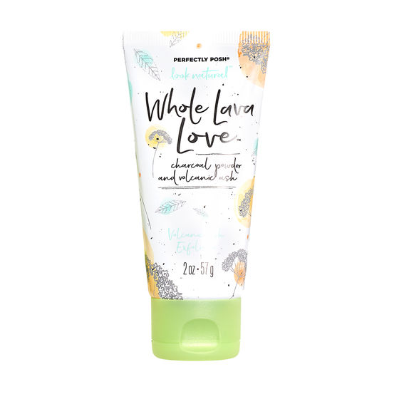 whole lava love exfoliator