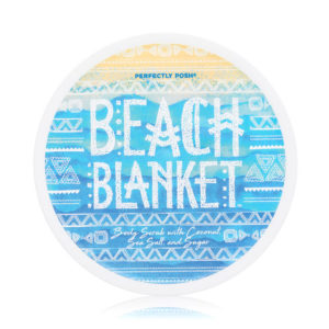 beach blanket body scrub