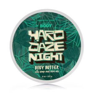 body butter hard daze