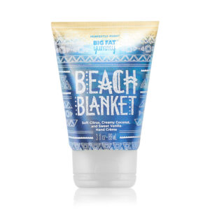 perfectly posh beach blanket cream