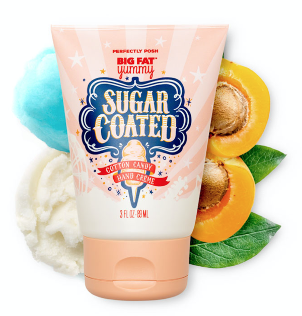sugar coated hand cream