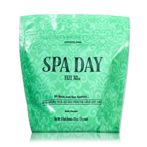 spa day bath bomb pack